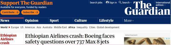 美专家拷问波音:应主动告知各航司停飞737MAX8